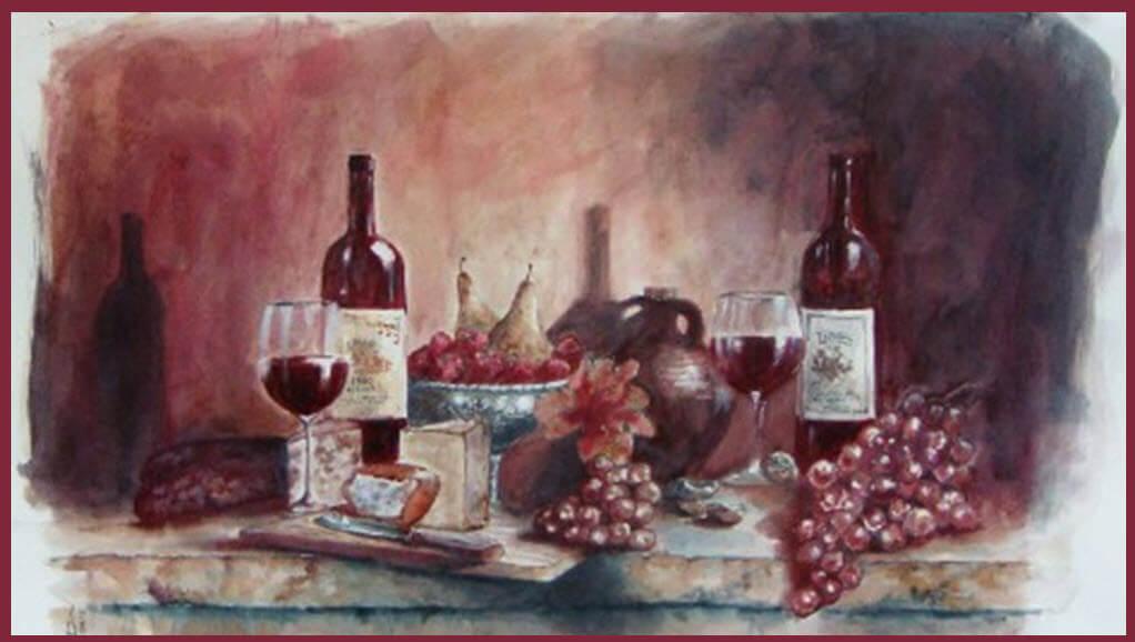 Картины… вином!