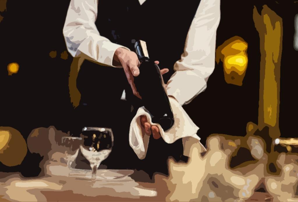 Мастер-класс по подаче вина и основам сервиса
